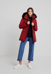 Superdry - ASHLEY EVEREST - Vinterkåpe / -frakk - brick red - 1
