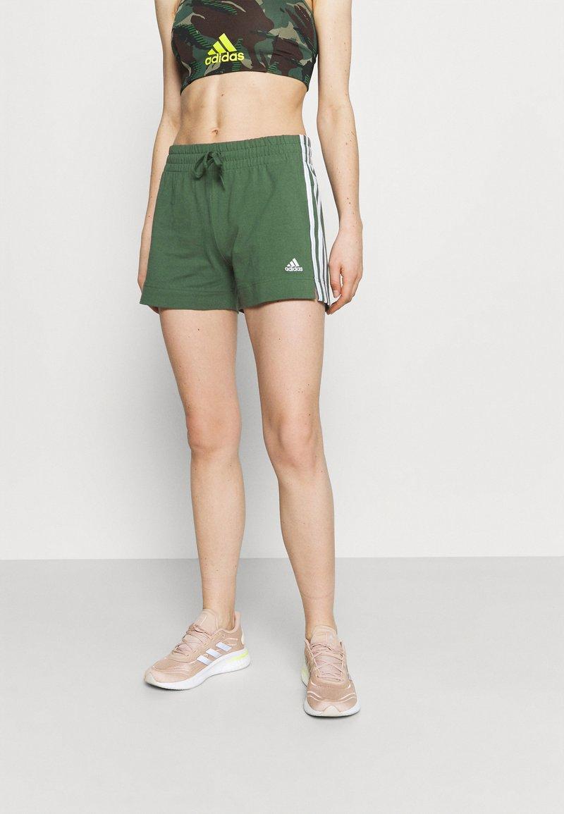 adidas Performance - Pantaloncini sportivi - greoxi/white