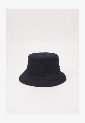MONOGRAM BUCKET HAT - Hat - blue