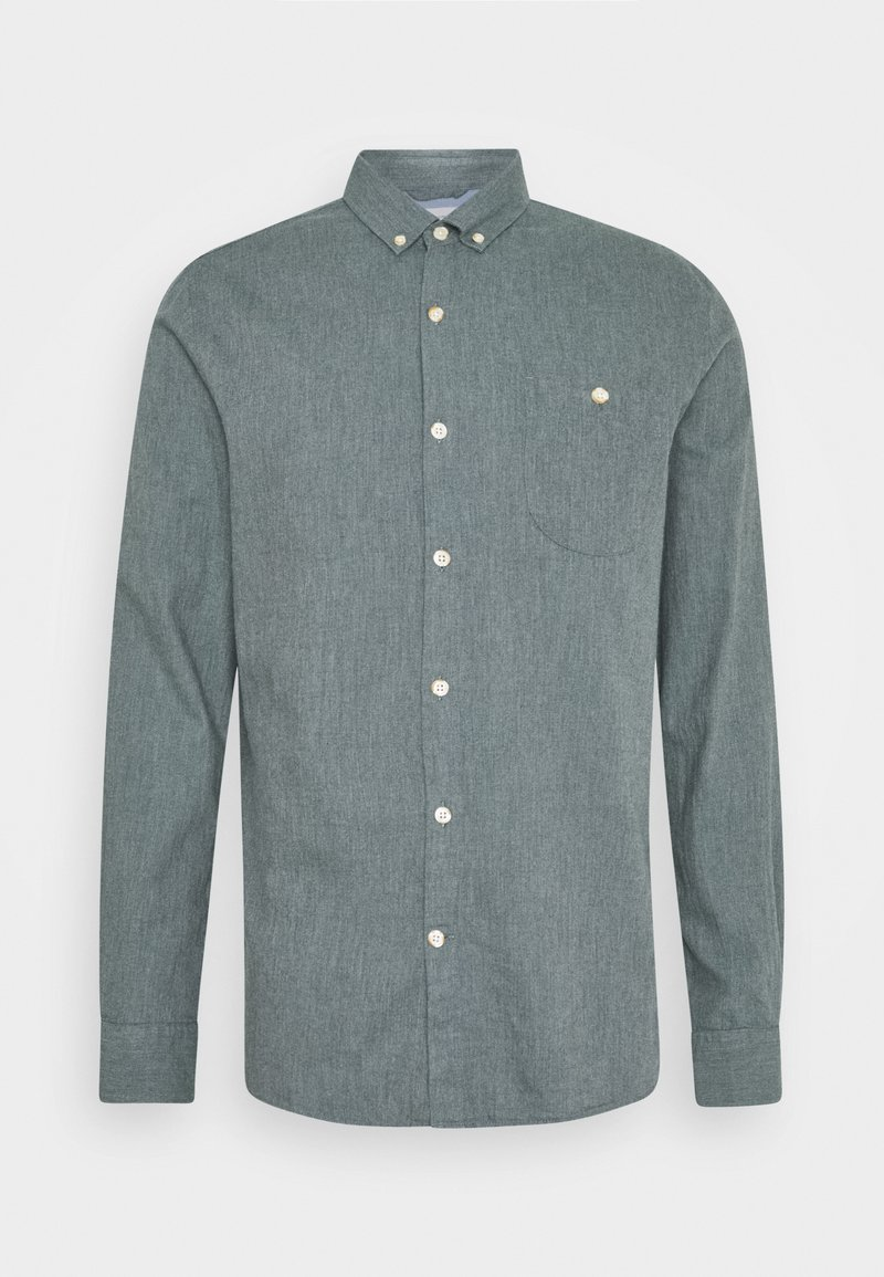 Knowledge Cotton Apparel - ELDER - Shirt - green forest