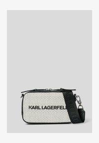 KARL LAGERFELD - Taška na fotoaparát - black/ white - 0