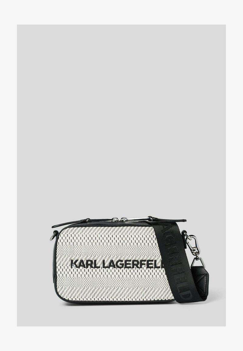 KARL LAGERFELD - Taška na fotoaparát - black/ white
