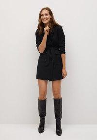 Mango - BLAKE - Short coat - schwarz - 1