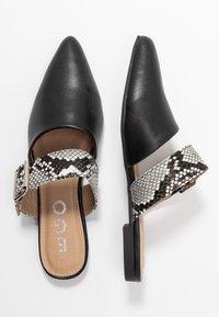EGO - DAWSON - Mules - black/grey - 3