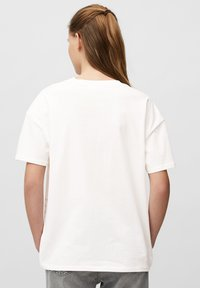 Marc O'Polo DENIM - Print T-shirt - scandinavian white - 2
