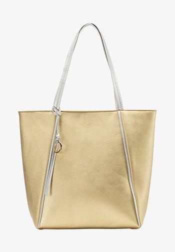 Tote bag - gold metallic