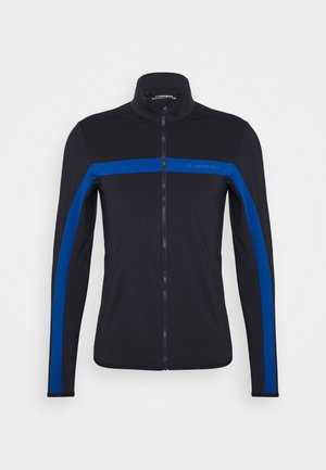 SEASONAL JARVIS - Fleece jacket - egyptian blue