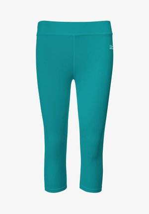 3/4 LEGGINGS - 3/4 sports trousers - petrol grün