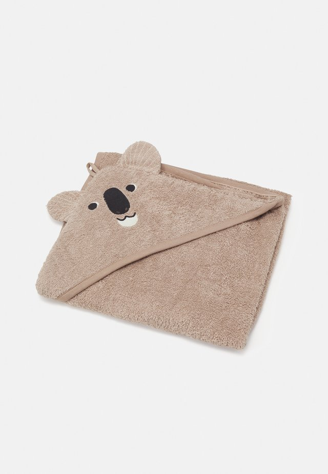 TOWEL KOALA BEAR - Telo da bagno - beige