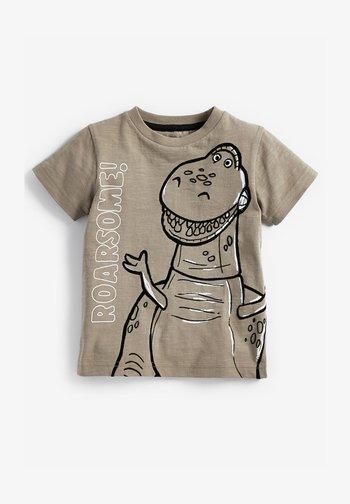 TOY STORY REX DINO 3D SPIKES JERSEY T-SHIRT - Print T-shirt - grey
