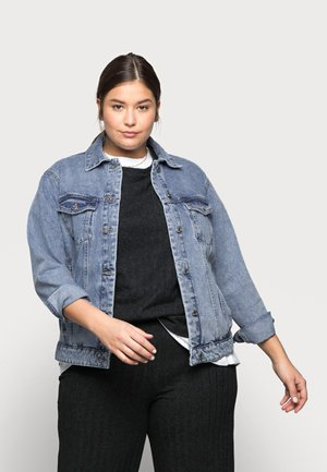 VMKATRINA JACKET - Denim jacket - light blue denim