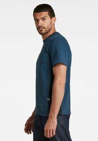G-Star - MOTO NEOPRENE R T - T-shirt print - luna blue - 2