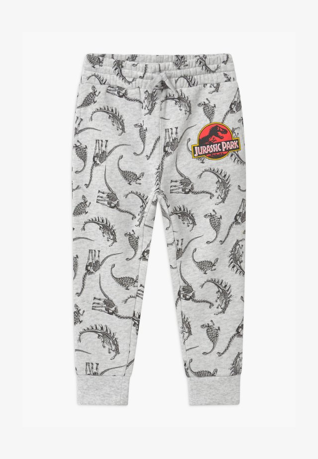 UNIVERSAL JURASSIC PARK LICENSE SLOUCH - Pantaloni sportivi - light grey