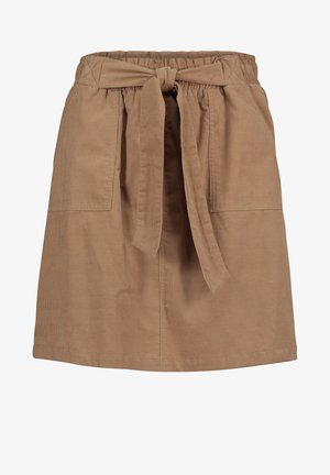 Mini skirt - dusty almond
