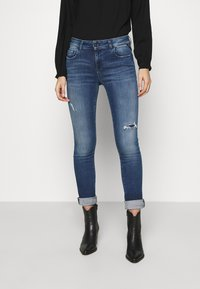 Replay - FAABY - Slim fit jeans - medium blue - 0