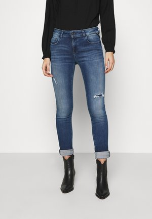 FAABY - Slim fit jeans - medium blue