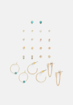 PEARL STUD 12 PACK - Boucles d'oreilles - gold-coloured