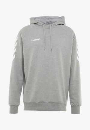 Bluza z kapturem - grey melange