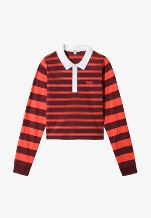 WM STRIPE BLOCK POLO - Polo shirt - port royale