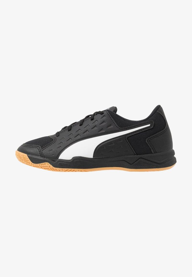 Puma - AURIZ UNISEX - Multicourt tennis shoes - white/black