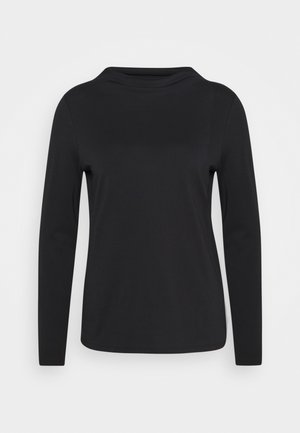CORE TEE - Long sleeved top - black