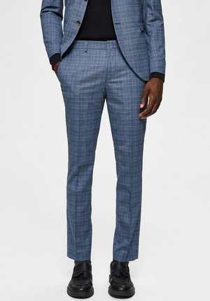 Suit trousers - navy blue