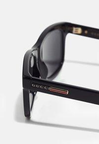 Gucci - UNISEX - Occhiali da sole - black/black/grey - 4