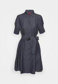 HUGO - ELITH - Denim dress - open blue - 6