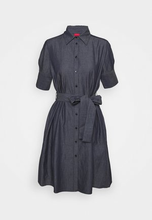 ELITH - Denim dress - open blue