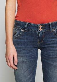LTB - MOLLY - Slim fit jeans - dark blue denim - 5