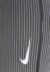 Nike Performance - AEROSWIFT SHORT - Collants - iron grey/black/white - 4