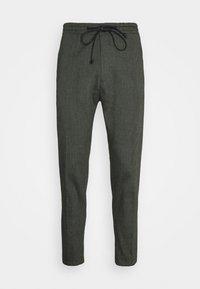 JEGER - Trousers - mottled olive
