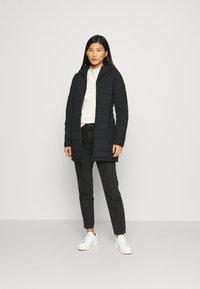 Abercrombie & Fitch - PUFFER - Classic coat - black - 1