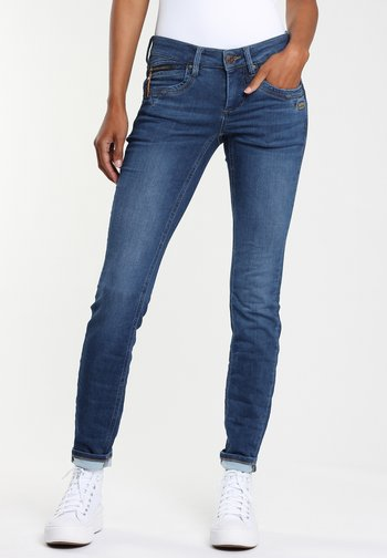 Jeans Skinny Fit - satin blue wash
