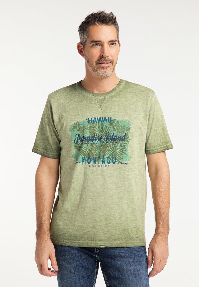 T-shirt imprimé - cypress