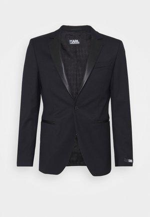JACKET LAPEL - Veste de costume - black