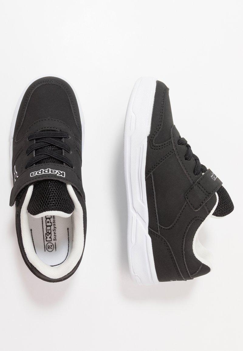 Kappa - DALTON ICE - Sports shoes - black/white