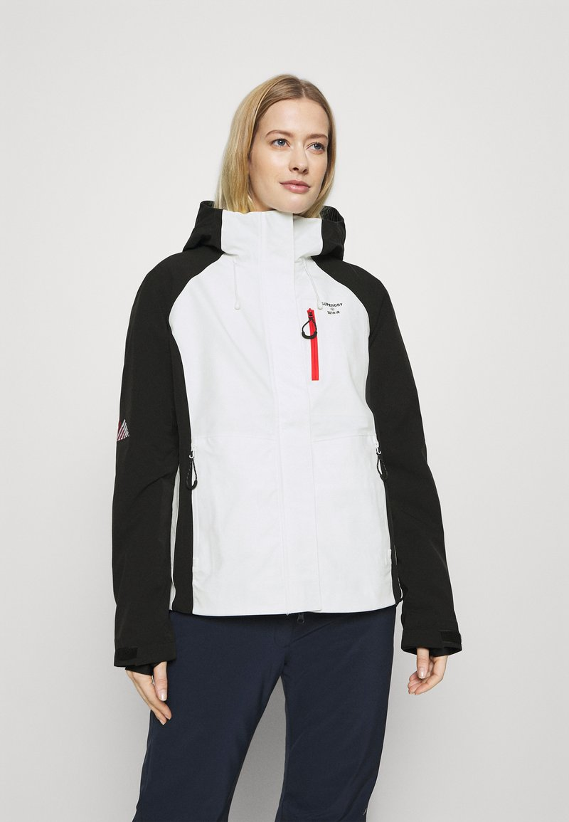 Superdry - ALPINE SHELL JACKET - Hardshell jacket - white