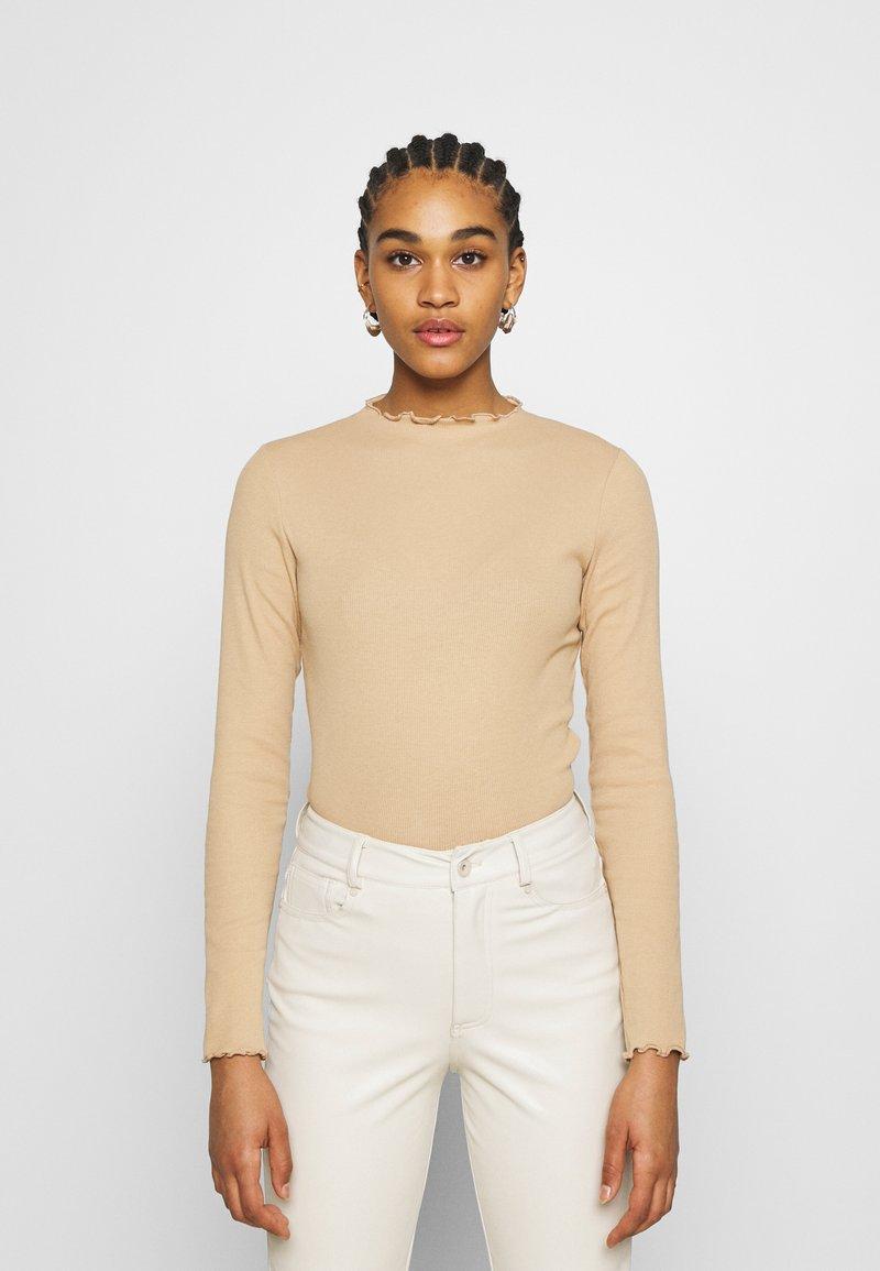 Monki - Long sleeved top - beige