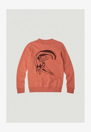 CIRCLE SURFER CREW - Sweater - living coral