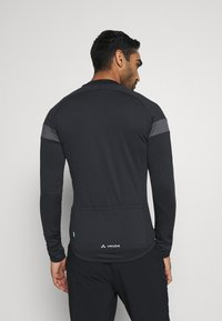 Vaude - MENS MATERA TRICOT - Long sleeved top - black - 2