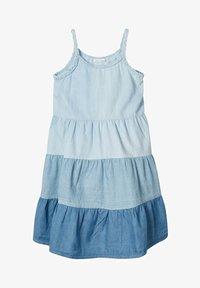 Name it - MEHRFARBIGES - Sukienka jeansowa - light blue denim - 1