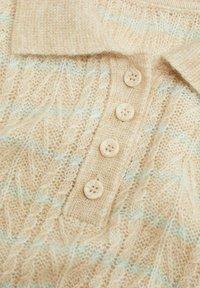 Mango - SAFARIR - Polo shirt - ecru - 7