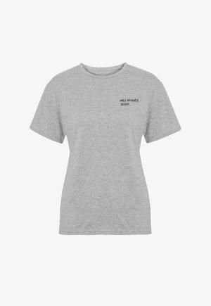 PRACTICE - Print T-shirt - grey