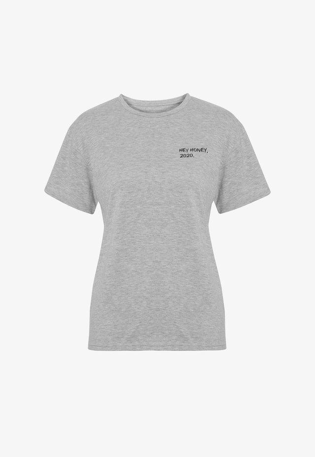 PRACTICE - T-shirt print - grey