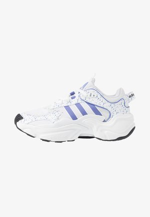 MAGMUR RUNNER - Sneakersy niskie - footwear white/chalk purple/core black
