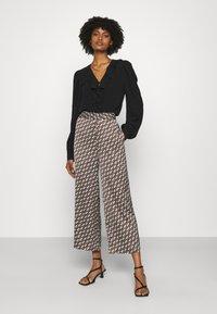 Pinko - GRUS - Trousers - black - 1