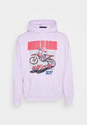 MAD CITY HOODIE - Sweatshirt - lilac