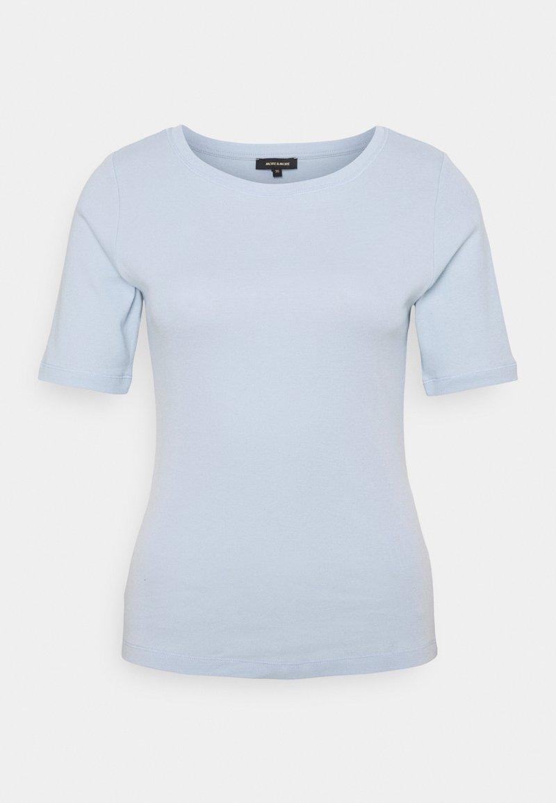 More & More - T-shirt basic - soft blue