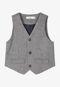 Name it - Gilet elegante - grey melange - 0